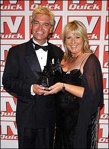 Philip Schofield and Fern Britton