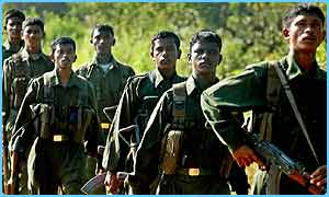Some Tamil Tiger soldiers