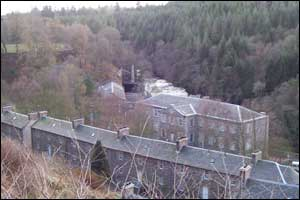 Robert Owen's workers' village at New Lanark is a World Heritage site and well worth a visit according to Steven Lilly from Dunfermline
