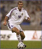 Zinedine Zidane is one of the finest players in the world
