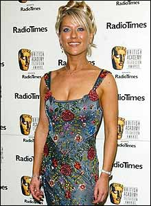 The ever-glamorous Zoe Lucker from Footballers' Wives