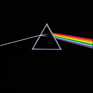 Dark Side of the Moon by Pink Floyd, courtesy of Rockoptic