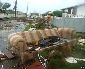 Jamaica in the wake of Hurricane Ivan
