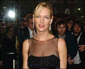 Kill Bill star Uma Thurman
