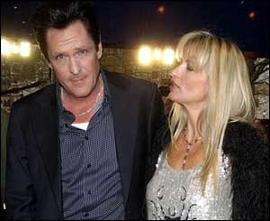 Michael Madsen with wife Diana