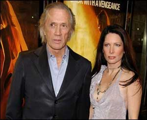 David Carradine with girlfriend Annie Bierman