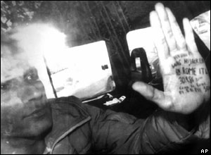 Mordechai Vanunu, after his arrest in 1986