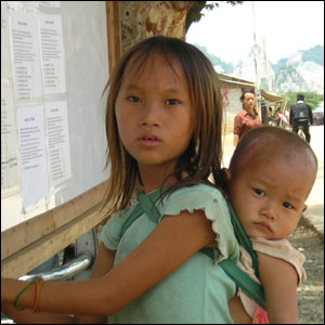 Children at Wat Tham Krabok