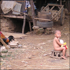 Child at Wat Tham Krabok