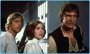 The first Star Wars film was made in 1977