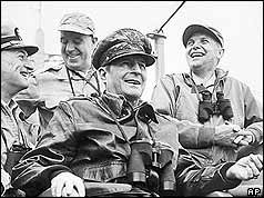 Douglas MacArthur at Inchon