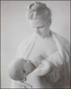 Mother and Child - A Study, 1903