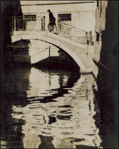 Shadows and Reflections, Venice, 1905