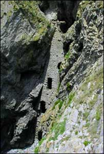 A picture of Culver Hole smugglers cave, Port Eynon, Gower (Dave Allen)