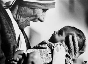 Eddie Adams picture of Mother Teresa