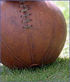 Footballs used to be made from pigs bladders