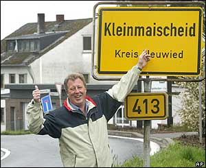 German village of Kleinmaischeid
