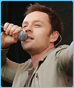 Darren Hayes has been voted in to the pop star chart