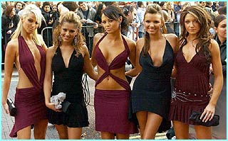 Girls Aloud show them how to look really classy