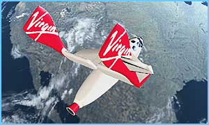 Virgin will fly people into space