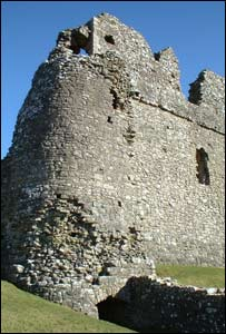 Lewis Simper took this shot of Ogmore Castle, near Bridgend