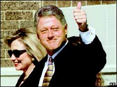 Bill and Hilary Clinton