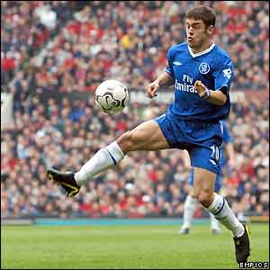 Chelsea midfielder Joe Cole