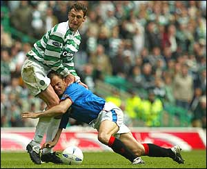 Chris Sutton and Ronald de Boer