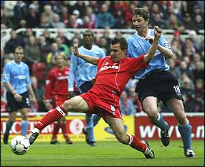 Nemeth pokes in Middlesbrough's second