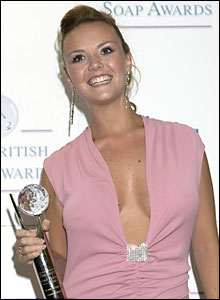 Charlie Brooks, who plays Janine Evans in EastEnders