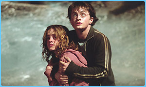 Harry and Hermione in Prisoner of Azkaban