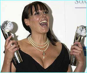 Coronation Street's Suranne Jones won best actress and best storyline for her role as Karen McDonald