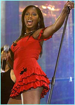 R'nB diva Jamelia showed she was the best of British talent after singing some of her songs
