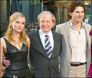 Wolfgang Petersen, Diane Kruger and Eric Bana