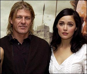 Sean Bean and Rose Byrne