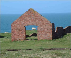 Ruins of the brickworks at Porthgain (Will Ford)