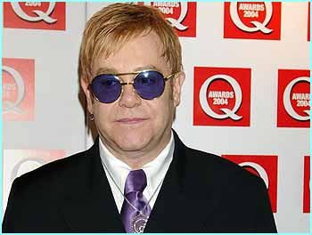 Elton John turned up too, won the Classic Songwriter Award, and had a right go at Madonna, saying she mimes at her gigs