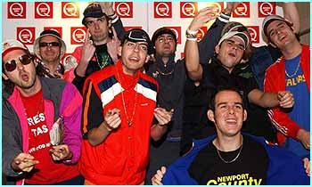 There wasn't an award for Best Comedy Rappers from Wales, but had there been Goldie Lookin Chain would have won it