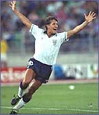 Gary Lineker has scored some big goals in big matches