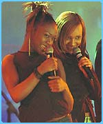 Cherise and Nadia from Big Brovaz