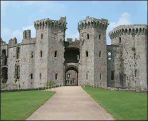 Nathaniel sent in this picture of Raglan Castle
