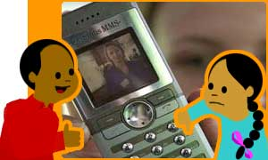 Picture messaging mobile