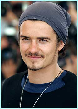 Here's our lovely Orlando Bloom looking as though he's resurrected the role of pirate for the Cannes film festival!