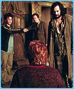 Filming on Harry Potter and the Prisoner of Azkaban