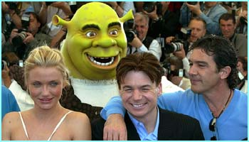 Watch out guys - Shrek's behind you!
