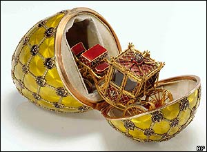 Coronation egg by Carl Faberge