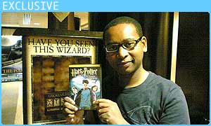 Lizo with the DVD