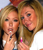 Jenny and Natasha formerly of Atomic Kitten