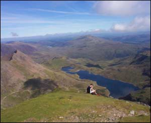 Stephen Reynolds, Felindre, mid Wales, took this view on his trip up Snowdon to celebrate his 40th birthday