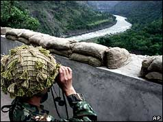 Pakistani soldier in Pakistan-held Kashmir